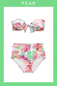 The Best Swimsuits For YOUR Shape  #refinery29  http://www.refinery29.com/affordable-swimsuits-by-body-type#slide-37  Under $30 never looked so chic. Kudos, Aerie.