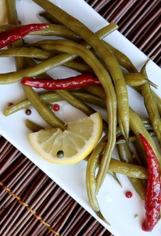 Spicy Pickled Green Beans #recipe