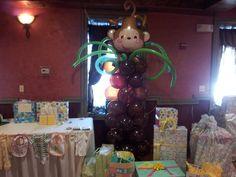 Monkey Balloon Column
