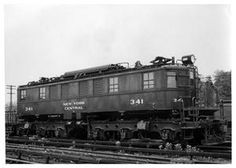 New York Central Electric Locomotive.