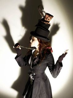 Helena as the Mad Hatter