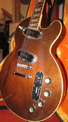 Vintage 1971 Gibson Les Paul Professional Electric Guitar Walnut w OHSC Clean