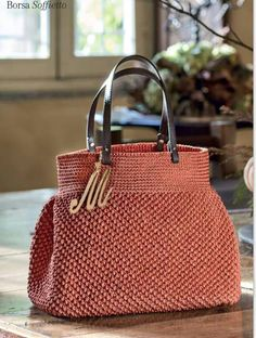 Crochet Purses, Crochet Bags, Bags 2018, Macrame Bag, Roman Blinds, Fabric Bags, Knitted Bags, Tote Purse, Purses And Bags