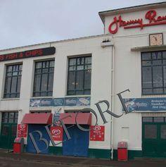 Bournemouth : Famous Harry Ramsden's Fish & Chips ? / c Martin ou Paul? ou foi na filial de Brighton??