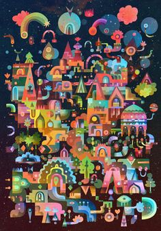 "Curioos.com | ""Talliff"" by Matt Lyon (United Kingdom) - http://pinterest.com/curioos"