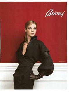 Brioni F/W 09 (Brioni).  Nathaniel Goldberg - Photographer.   Alex Gonzalez - Creative Director.   David Bradshaw - Fashion Editor/Stylist.   Angela Lindvall - Model.
