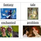 These vocabulary cards match the words and definitions taught and assessed in NYS Engage NY Listening and Learning Strand, Grade 1, Domain 9: Fairy...