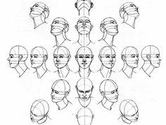 Karakalem Portre ve Photoshop'un Buluştuğu Nokta: Karakalem Yüz Çizme - Charcoal Face Drawing