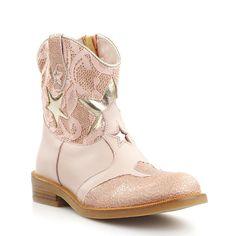 Zecchino d'Oro 4805 korte laarzen roze met kant