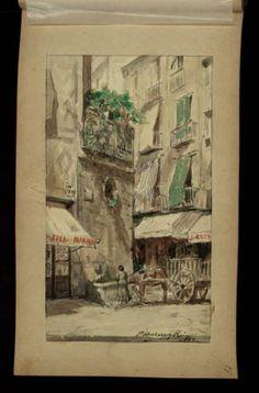 Àlbum d'autògrafs aplegats per Marta Pi de Ferran :: Materials gràfics (Biblioteca de Catalunya)