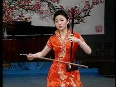 "Erhu - Ballad of North Henan Province 豫北叙事曲 A powerful performance by Yu Hongmei, playing the Erhu, or ""Chinese violin."""