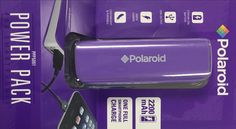 Polaroid-Polaroid 2200MAH Portable Battery - PURPLE