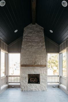 Back Porch Stone Fireplace Fireplace features the same stone used on the exterior Gray Cobble Creek Stone and it has a 3 foot wide opening Back Porch Stone Fireplace Fireplace Back Porch Stone Fireplace Fireplace Back Porch Stone Fireplace Fireplace Back Porch Stone Fireplace Fireplace #BackPorch #StoneFireplace #Fireplace