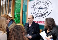 CHELSEA space » news archive » Mick Jones Lends [support] to Libraries