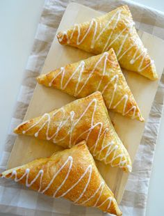 Apple Turnovers, my favorite bakery item that I can now make at home!