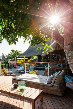 Veranda Pointe aux Biches 4-star hotel in the north-west of Mauritius.  #hotel #island #wanderlust