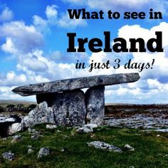 Ireland is so rich in history and beauty that it's impossible to experience it all in 3 days. But what we did see was spectacular!