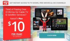 @RabbitTVPlus @RabbitTV Rabbit TV Review! Check out Rabbit TV for only $10 a YEAR!   http://getridofcable.net/rabbit-tv