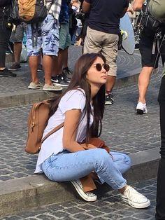 Kathryn Bernardo Hairstyle, Kathryn Bernardo Outfits, Daniel Padilla, Jadine, Girl Crushes, My Outfit, Dj, Photo And Video, My Love