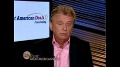 Pat Sajak on Daytime discussing Great American Deals Franchising #GAD