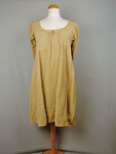 Antique Night Dress 1900 Patched Hobo Vtg 20s Chore Shirt Smock Depression Dress | eBay