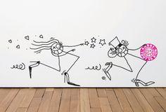 André, artiste street art devenu business man. - http://www.blog.stripart.com/art-urbain/andre-saraiva/