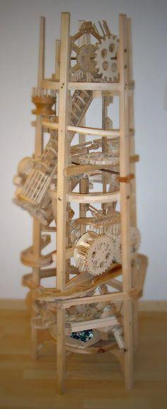 Невероятные деревянные механизмы / Paul Grundbacher (9)