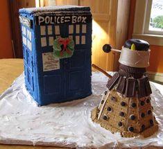 "TARDIS and Dalek - ""Doctor Who"""