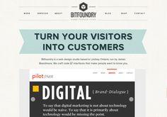 http://bitfoundry.ca #webdesign #responsivedesign #inspiration