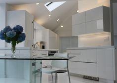 Custom Design Modern Luxe White Kitchen