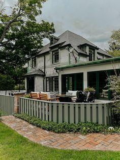 Deck Reveal: A Cozy Outdoor Sitting Area - Miranda Schroeder outdoor decor, patio ideas, outdoor oasis, outdoor patio decor