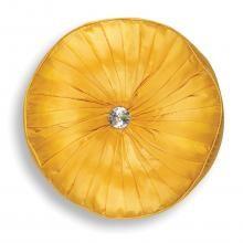 Chicago Round Cushion In Saffron (petite) Round Cushions, Chicago, Pumpkin, Pumpkins, Squash