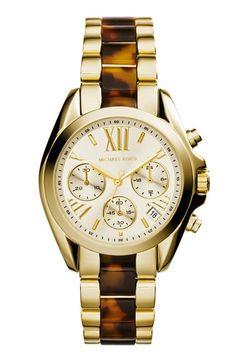 Michael Kors Chronograph Resin Link Bracelet Watch http://rstyle.me/n/m9zg5nyg6