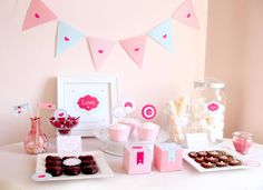 Valentines Day Party  Sweetheart Collection  Paper by luvalexa, $15.00
