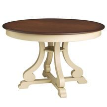 Marchella Round Dining Table – Antique Ivory