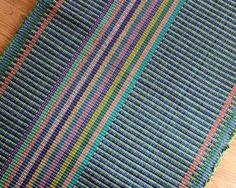 Handmade Cotton Rag Rug Runner 2 x 6 / Rug by TexturesGallery
