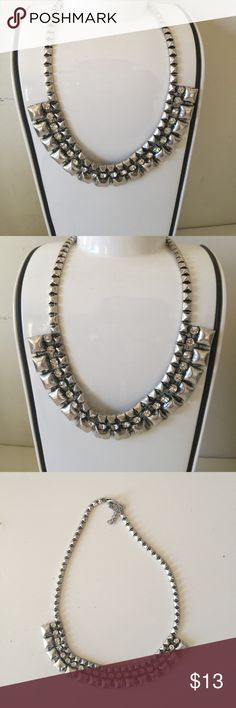 Silver necklace New! Statement neck Urban Outfitters Jewelry Necklaces