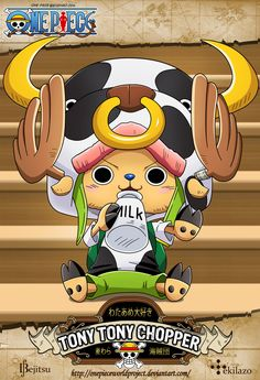 One Piece - Tony Tony Chopper by OnePieceWorldProject on @DeviantArt