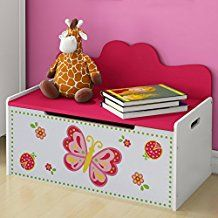 Storage Bench For Children High-Quality MDF Kids Room Store Books Toys Clothes Wooden Toy Boxes, Wooden Toys, Toy Storage Boxes, Storage Spaces, Chest Furniture, Room Store, Wooden Chest, Baby Keepsake, Toy Chest