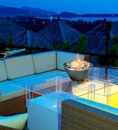 Chimeneas para la terraza | Ventas en Westwing