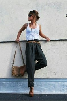 Find linen fabric to make these pants.