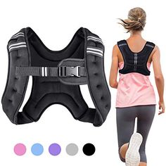 """Henkelion Running Weight Vest for Men Women Kids Weights Included, Body Weight Vests for Training Workout, Jogging, Cardio, Walking - 12 Lbs -"" Weight Vest Workout, Weight Vest Training, Running Training, Strength Training, Beach Cruiser Bikes, Adjustable Weights, Weighted Vest, Ankle Weights, Home Sport"