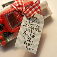 Free printable from the Domesticated Lady...perfect for neighbor or coworker gifts.