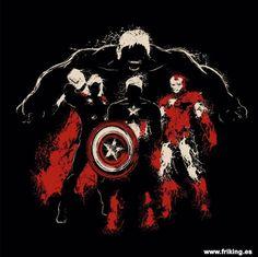Llegan a nuestras tiendas una de las sudaderas con capucha para niños de nuestros vengadores.  un diseño fantástico para todo niño que le encante estos héroes de acción, acompaña al Capitan America, Ironman, Thor y a Hulk a otra de sus aventuras.