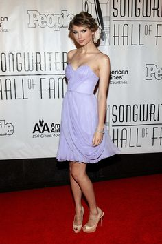 Taylor Swift - 41st Annual Songwriters Hall of Fame - New York City, NY. - June 17, 2010.