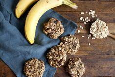 Biscuits déjeuner aux bananes et à l'avoine