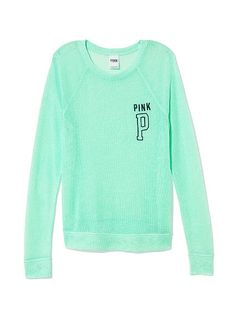 So comfy! The Sheer Knit Sweater is perfect for anything! #PrettyInPastel #PINKReps