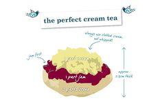 cream tea devon vs cornwall