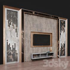 Living Room Partition Design, Living Room Tv Unit Designs, Bedroom False Ceiling Design, Tv Unit Interior Design, Lcd Wall Design, Modern Fence Design, Tv Unit Decor, Modern Tv Wall Units, Drawing Room Design