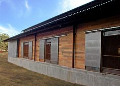 Construction of Red Oak Ranch | GH2 Gralla Equine Architects / Lake|Flato Architects
